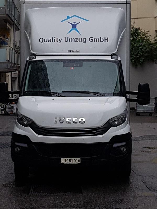 Quality-Umzug transport
